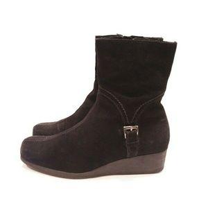 La canadienne laverna boots brown size 7.5